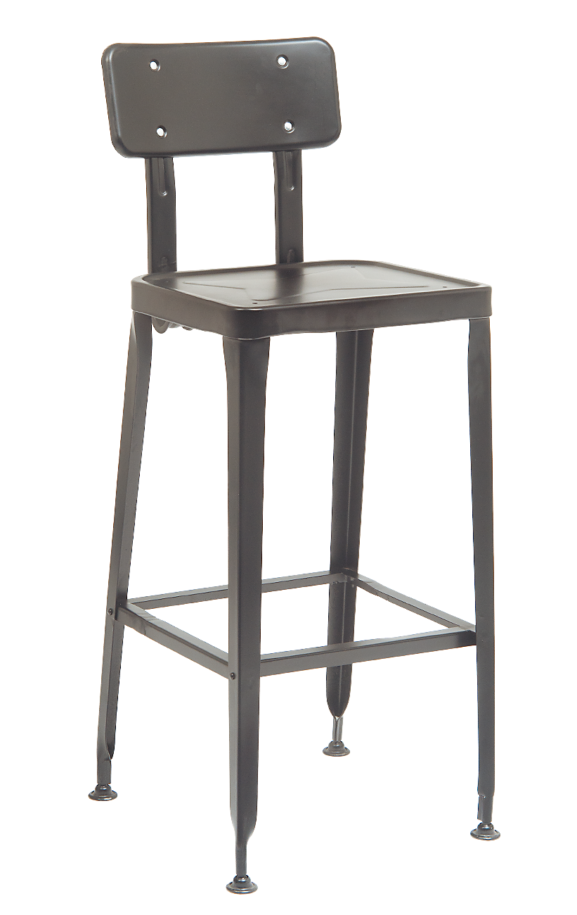 industrial restaurant furniture. Indoor Clear Coat Finish Metal Barstool (Commercial Bar Stools) : Restaurant Furniture, A1 Furniture Industrial R