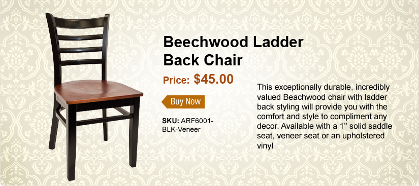 Beechwood Ladder Back Chair