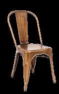 Bronze Finish Tolix Metal Barstool Commercial Metal Bar Stools Restaurant Furniture A1