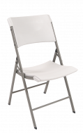 White Polyproplylene Folding Chair