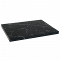 24''X24'' Indoor Black Artificial Granite Table Tops
