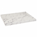 24''X24'' Indoor White Artificial Granite Table Tops