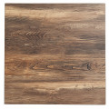 24''Round Wood Grain Melamine Table Top