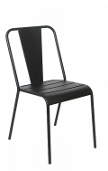 Black Iron Outdoor Chair