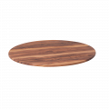 27.5'' Round  Molded Compression Table Top, Indian Rosewood