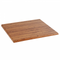 24''X24'' Molded Compression Table Top, Aged Pine