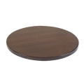 24'' Round Veneer Table Top, Walnut