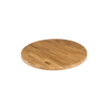 24'' Round Solid Oak Wooden Table Top, Natural