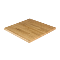 24''X24'' Solid Oak Wooden Table Top, Natural