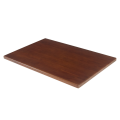 30''X45'' Solid Oak Wood Table Tops, Dark Mahogany