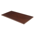 30''X72'' Solid Oak Wood Table Tops, Dark Mahogany