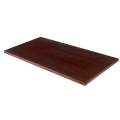 30''X72'' Veneer Table Top, Dark Mahogany