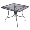 Wrought Iron Table w/ Size 36''X36""