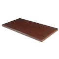 30''X72'' Resin Table Top, Dark Mahogany