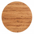 27.5'' Round Molded Compression Table Top, Aged Pine