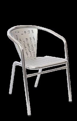 Aluminum Sandblasted Chair Outdoor Restaurant Chairs Restaurant Furniture A1 Restaurant