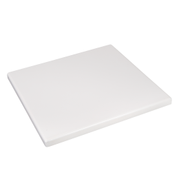 X Plain White Resin Table Top IndoorOutdoor Resin Table - Restaurant resin table tops