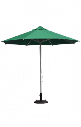 Aluminum Patio Umbrella Green Only Restaurant Umbrellas