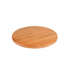 24 Round Solid Oak Wood Table Tops Cherry Clearance